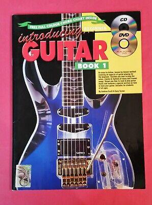 Introducing Guitar Book - Andrew Scott - Introducing Guitar - Book 1 Beginner - pb - Includes CD & DVD
