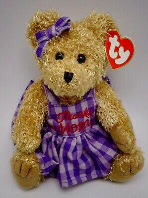 Ty Attic Treasure Collection Mommy Bear Plush Thanks - Mommys Treasure