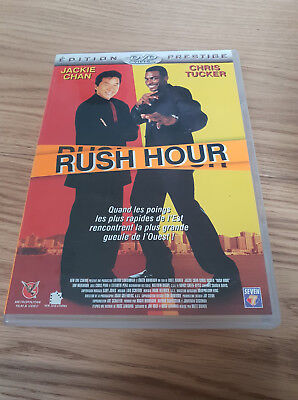 Film DVD - Edition Prestige - Rush Hour - Jackie Chan - Chris Tucker - Bon état