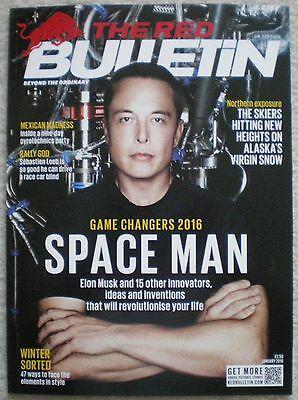 Elon Musk – Tim Roth - Red Bulletin – January 2016