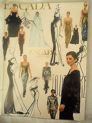 ESCADA Vintage 1997 Couture Fashion Full Catalog Look Book Autumn Winter 89 Page