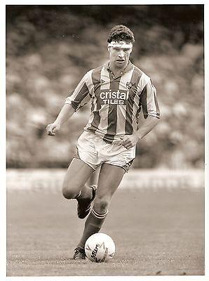 Original Press Photo Stoke City FC Ian Cranson 2.9.1989