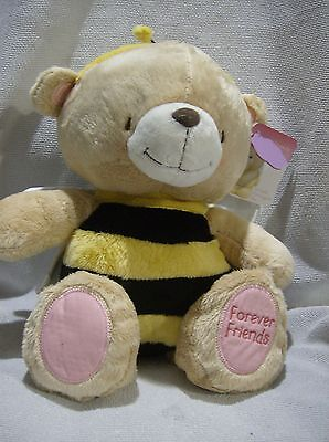 Forever Friends plush 12inch teddy dressed as bee