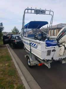 Stacer Aluminum boat 4.2