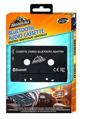 ARMOR ALL Black Bluetooth Audio Cassette Car Adapter
