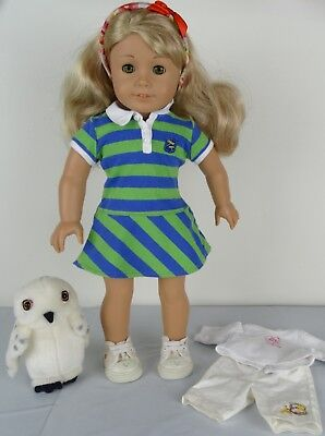 American Girl ~ Girl of the Year 2010~ LANIE Doll with Meet Outfits & Owl segunda mano  Embacar hacia Argentina