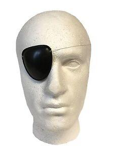 Henbrandt Pirate Black Eye Patch Mask Eyeshade Plain Fancy Costume Party