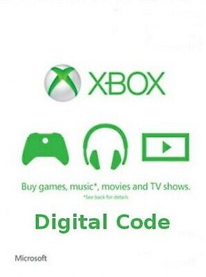$50 XBOX Live $50 USD Gift Card - XBOX ONE and 360 - USA ONLY -