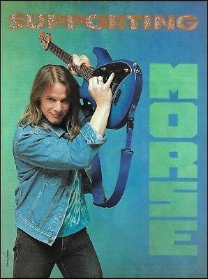 Steve Morse with his Ernie Ball Music Man Guitar 8 x 11 pin-up photo 2a