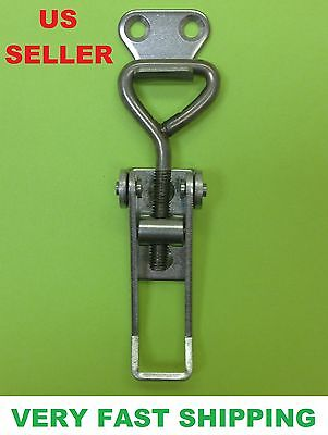 Stainless Steel Small Adjustable Toggle Latch Catch For Boxes Chest # 34000132