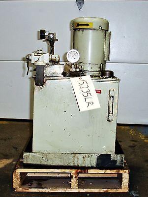 Parker Hydraulic Power Supply Unit 2hp Modv27kp0x48587 15235lr