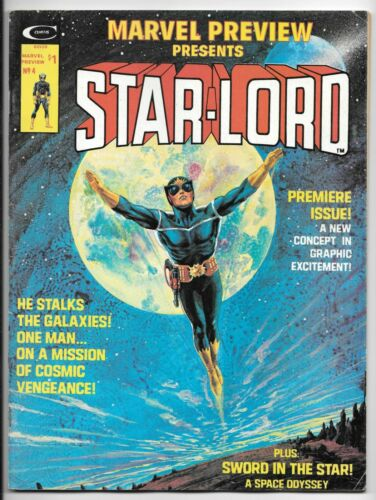 MARVEL PREVIEW #4 (1/76) FN/VF (7.0) 1st APP STAR-LORD (GUARDIANS OF THE GALAXY)