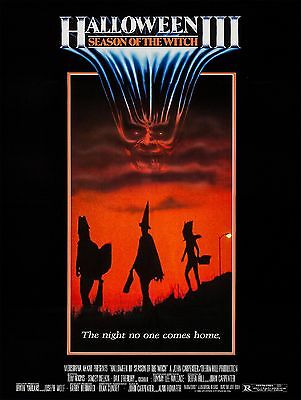 Halloween 3 Movie 1982 (1982 Halloween 3 Movie High Quality Metal Magnet 3 x 4 inches)