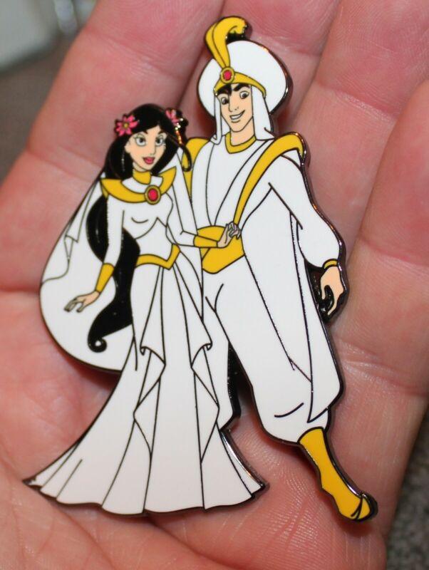 PIN ALADDIN & JASMINE WEDDING 3 INCH JUMBO FANTASY LIMITED EDITION GENIE LE