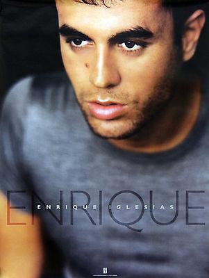 Enrique Iglesias 1999 Original Interscope Records Promo Poster