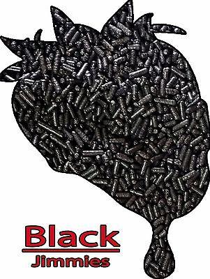 Holiday Halloween Edible Black Jimmies Sprinkles Decorettes 8 oz. (Black Sprinkles)
