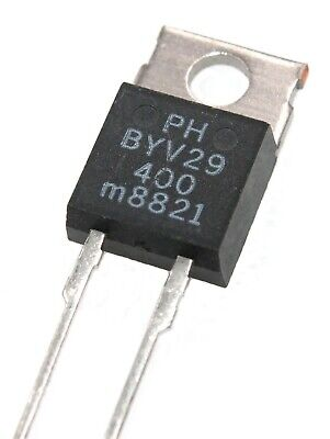 Byv29-400 - Ultrafast Power Diode. 400v 9a - Lot Of 1 3 Or 10.