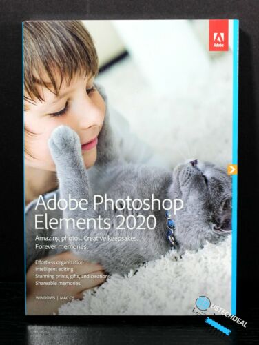 Adobe Photoshop Elements 2020  Disc Version