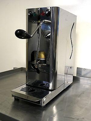 Pupilla Pod Espresso Machine 10 Cases Espresso Pods 4 Bottle Of Syrups
