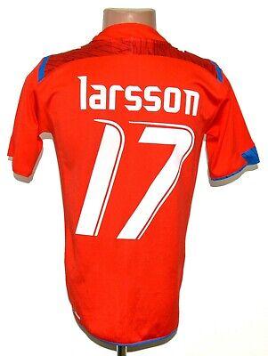 HELSINGBORGS IF SWEDEN 2009 HOME FOOTBALL SHIRT JERSEY LARSSON #17 PUMA S image