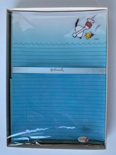 Vintage Hallmark Snoopy Stationery - New Old Stock w/ Packaging