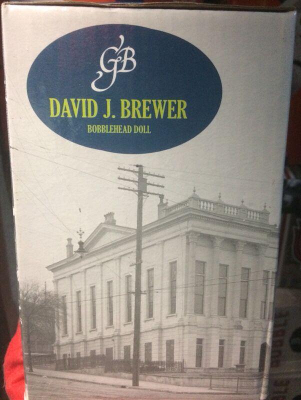 Supreme Court Justice David J. Brewer Green Bag Bobblehead DC History Associate