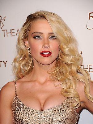 Amber Heard 8X10 Glossy Photo Print  Ah6