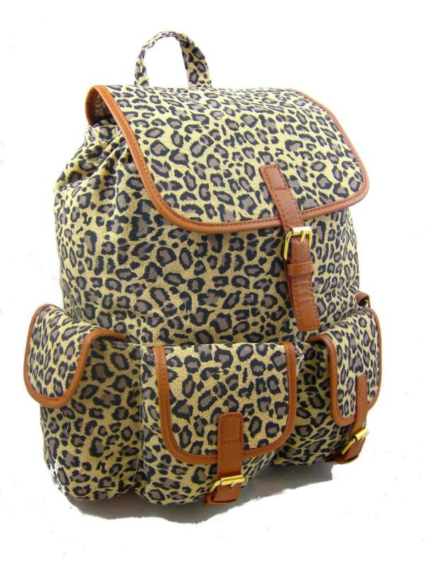 fd79493a81 Leopard Print Backpack