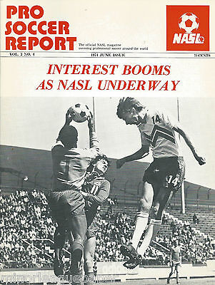 1974 New York Cosmos vs. Seattle Sounders NASL Soccer Program - Rare - MLS on Rummage
