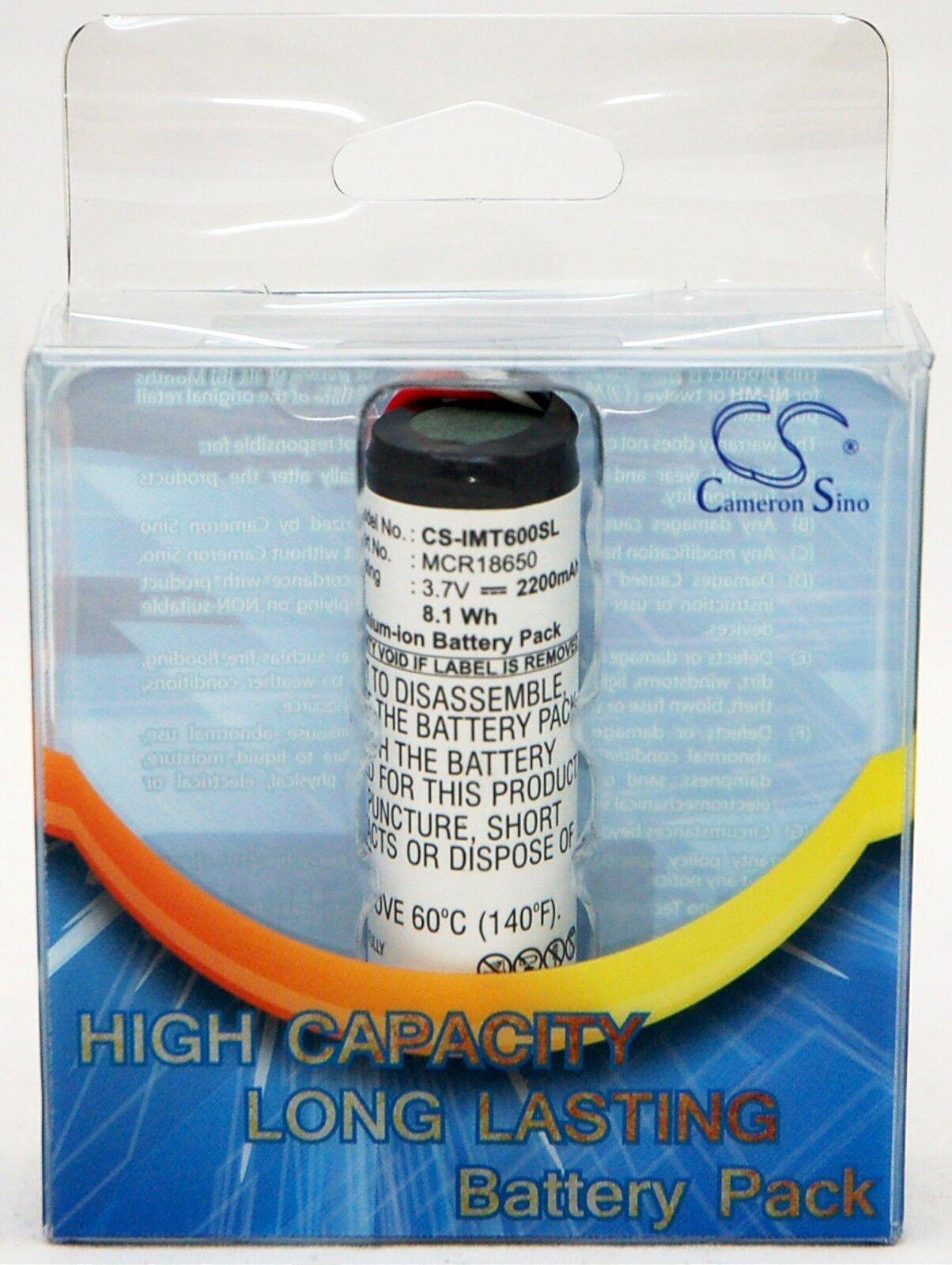 NEW Speaker Dock BATTERY Altec Lansing IM600 IMT620 IMT702 MCR 2200mAh 3 7V