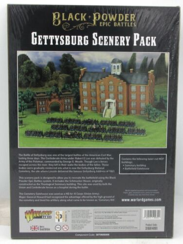 Black Powder Epic Battles 318814001 Gettysburg Scenery Pack (15mm) Terrain Set