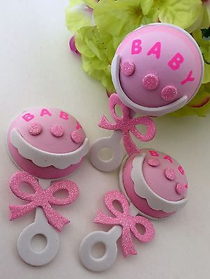 25-Baby Shower Party Table Decorations Foam Centerpiece Favors Supplies Girl DIY (Baby Shower Favors Diy)