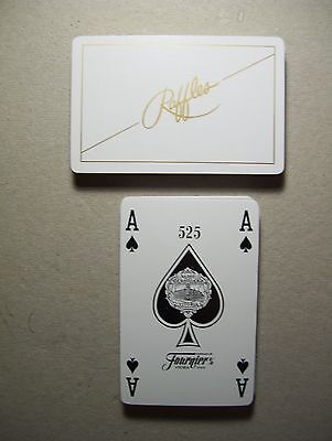 RAFFLES CIGARETTES DECK OF PLAYING CARDS.(UNUSED & MINT).