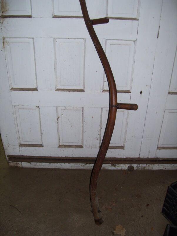 Vintage  Wood Sickle Handle