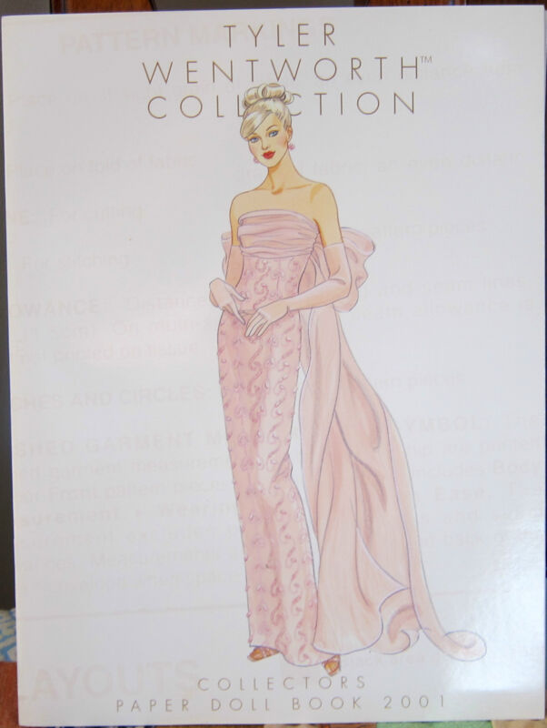 COLLECTORS PAPER DOLL BOOK 2001 TYLER WENTWORTH COL MINT See All Photos