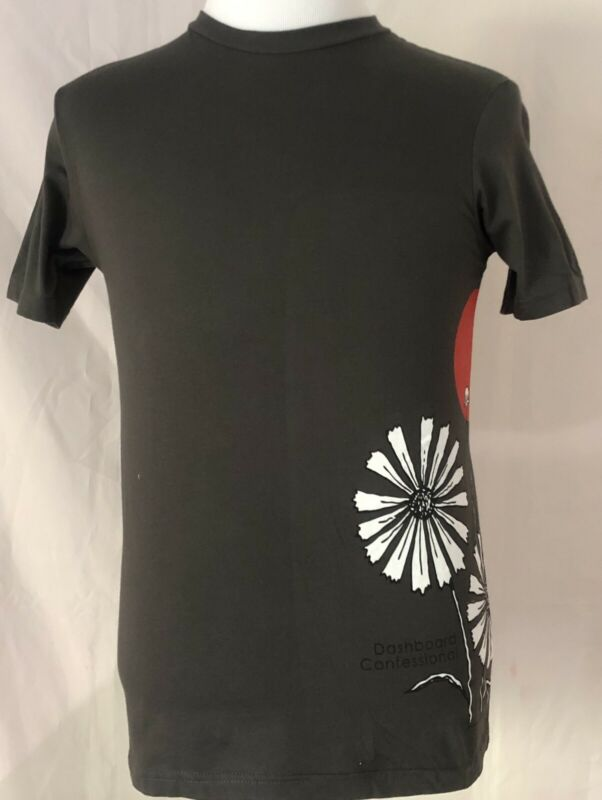 Dashboard Confessional 2006 Dusk To Summer Tour Gray Shirt Size Small