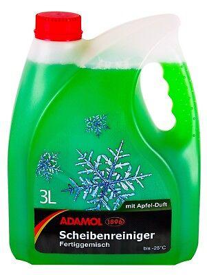 ADAMOL 1896 Scheibenreiniger Fertiggemisch Frostschutz Apfel 3 L Liter