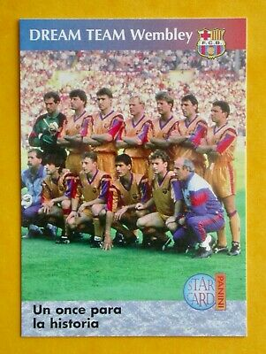 72 FC BARCELONA FINAL EUROPEAN CUP IN WEMBLEY 92/ BARÇA 90-96 COLLECTION/ PANINI