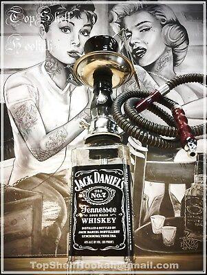 * Custom Jack Daniels Hookah HANDCRAFTED (message me for upgrades) Top Shelf * for sale  Pensacola