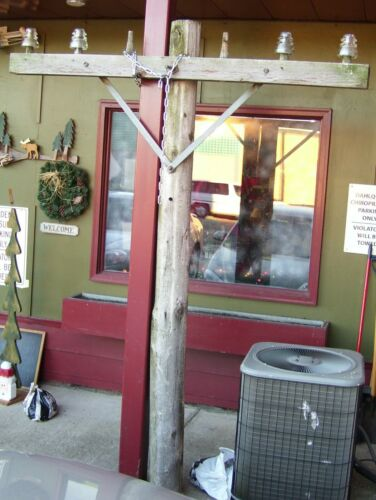 "telegraph telephone pole hardware ""display your glass insulators"""