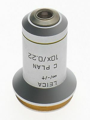 C Plan 10x0.22 Excellent Objective Lens 506075 Leica Dm Laboratory Microscope