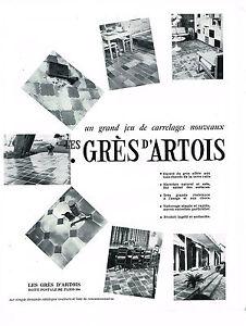 publicite advertising 094 1969 gres d 39 artois les carrelages nouveaux ebay. Black Bedroom Furniture Sets. Home Design Ideas