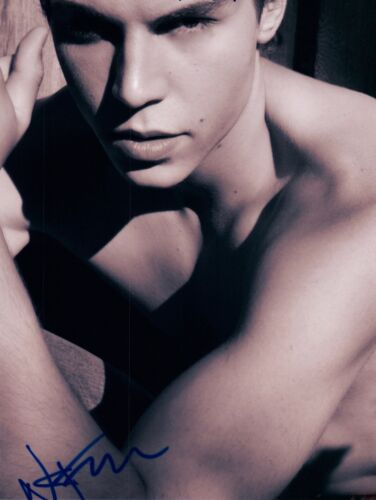 Nolan Gerard Funk Signed Autographed 8x10 Photo Glee Awkward Shirtless COA VD