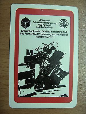 Taschenkalender 1985 SERO VEB Kombinat Sekundärrohstofferfassung