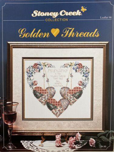 NEW Golden Threads, Stoney Creek Book 98, 4pgs - $5.00