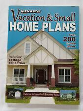 Menards  Vacation Small Home  Plans  Handbook Paperback