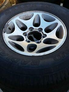 Silver Wheels with Marauder II 265/50R20 Tyres Gosnells Gosnells Area Preview