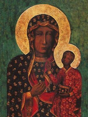 Religious Catholic Icon Our lady Of Czestochowa Wandering Katholische Ikone
