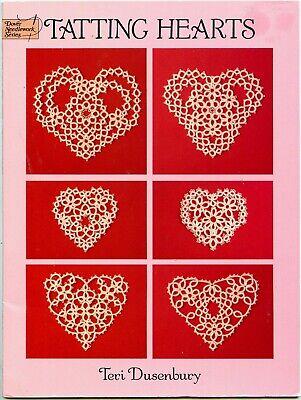 Tatting Hearts by Teri Dusenbury - Dover Needlework Series - -