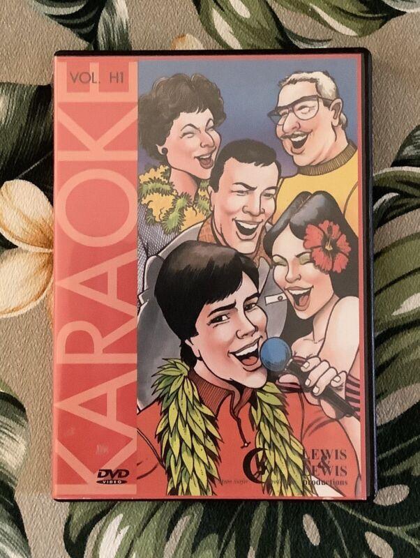 HAWAII'S FAVORITE KARAOKE Vol. H1 DVD Video Sing Along Hawaiian Music